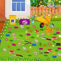 Гра Прибирання в саду: Фінальний штрих!
