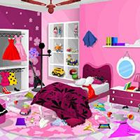 Гра Прибирання в спальні Барбі: грай безкоштовно онлайн!