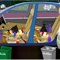 Гра Прибирання в машині: грай безкоштовно онлайн!