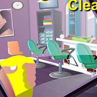 Гра Прибирання в салоні краси