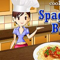 Гра Кулінарія Сари: Спагетті
