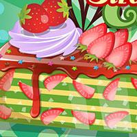 Гра Кулінарія: Полуничний торт