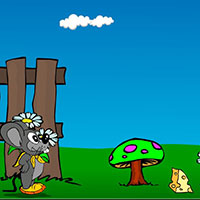 Гра Пригоди: Полювання за сиром!