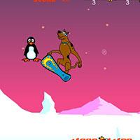 Гра Скубі Ду на літаючій дошці