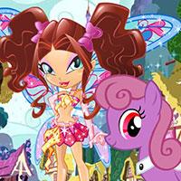 Гра Поні та Winx: грай безкоштовно онлайн!