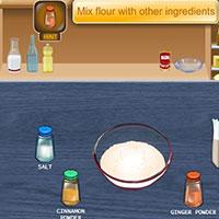 Гра Кухня Сари: Новорічний бісквіт