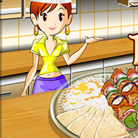 Гра Кухня: Сара готує кебаб
