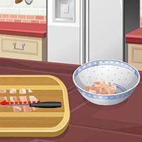 Гра Кухня Сари: Курка по-корейськи