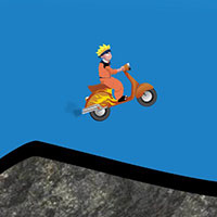 Гра Наруто катається на скутері