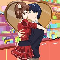 Гра Аніме поцілунки