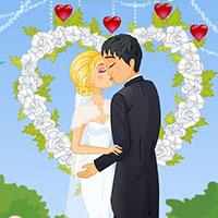 Гра Весільний поцілунок