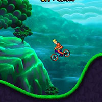 Гра Наруто на гірському велосипеді