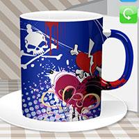 Гра Розмальовка: Дизайн чашки