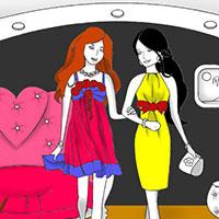Гра Розмальовка: Похід за покупками