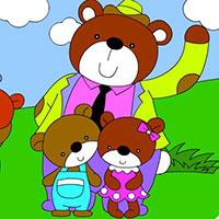 Гра Сім'я Ведмедів!