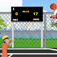 Гра Наруто грає в баскетбол