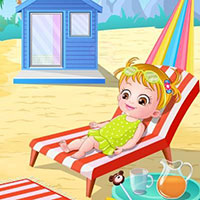 Гра Хейзел на пляжі