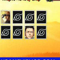 Гра Наруто запам'ятовує карти