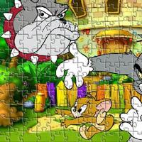 Гра Пазл кривдник Том і Джеррі