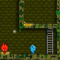 Гра Вогонь і Вода складний лабіринт