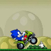 Гра Sonic в Маріо світі