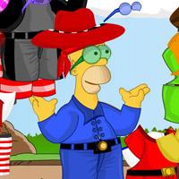 Гра Сімпсони Одяг для Гомера