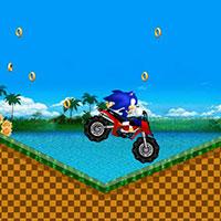 Гра Сонік на мотоциклі ATV