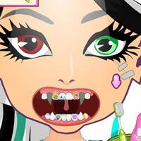 Гра Монстр Хай стоматологія