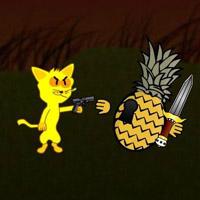 Гра Кіт вісі Кет: Попади в Кота