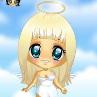 Гра Друзі ангелів: Одягни симпатичного і милого ангела