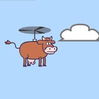 Гра Супер Корова На Вертольоті