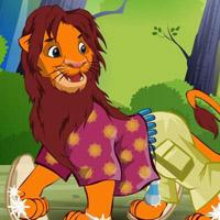 Гра Король Лев: Одягни Симбу