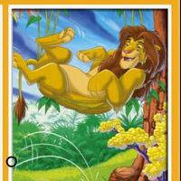 Гра Король Лев знайдіть 6 відмінностей