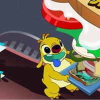 Гра Ліло і Стіч: Супер гамбургер