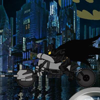 Гра Гонка Бетмена на Готемському мосту