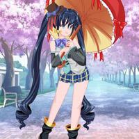 Гра Аніме одягалка: Хатцуне Міку