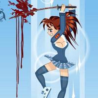 Гра Аніме бійка: Школярка проти орків