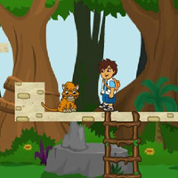 Гра Дієго бродилка: Порятунок тварин