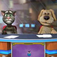 Гра Розмовляючий кіт: Телестудія