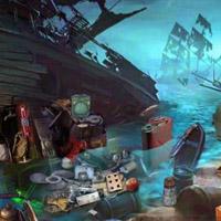 Гра Пошук предметів: Злий корабель