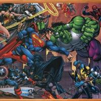 Гра Супермен і суперважкоатлет Халк