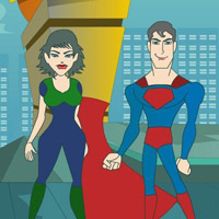 Гра Поцілунок від Супер героя