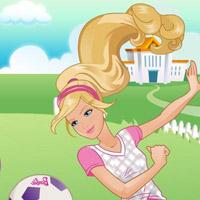 Гра Барбі зірка футболу