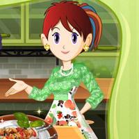 Гра Готуємо їжу з Сарою: Шашлик