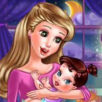 Гра Догляд за малюками: Малятку пора спати