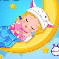 Гра Догляд за малюками: Маленька Барбі лягає спати