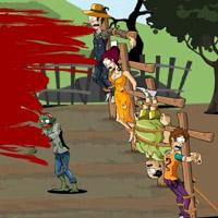 Гра для Хлопчиків: Знищити зомбі на фермі