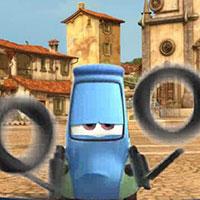 Гра Тачки підкидають колеса:грай безкоштовно онлайн!!