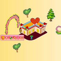 Гра для дівчаток: романтичне містечко