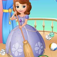 Гра Софія робить прибирання
